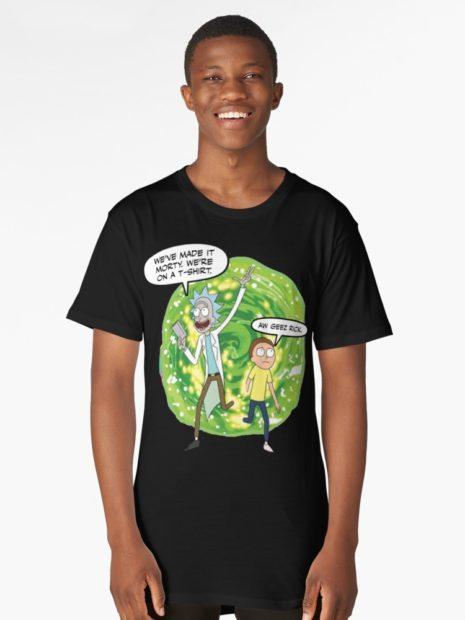 rick & morty t-shirts