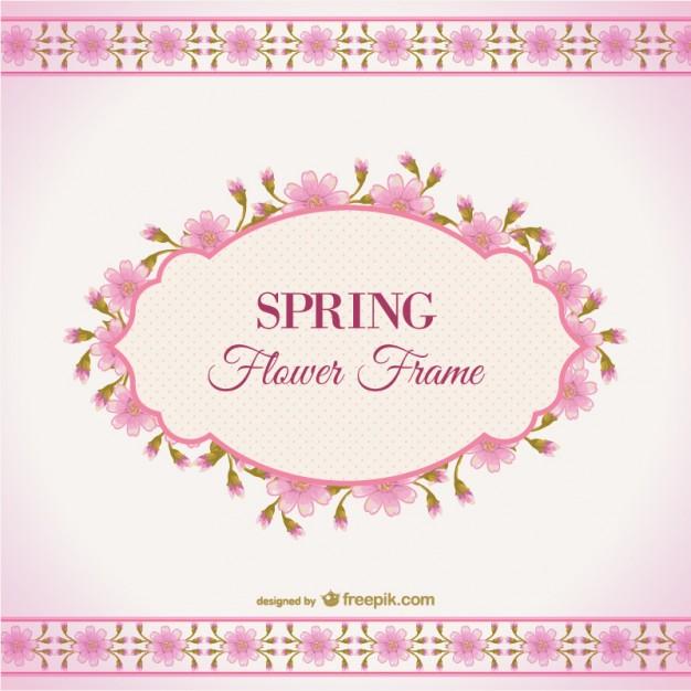 Spring flower theme