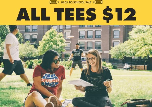 T-shirt summer sales