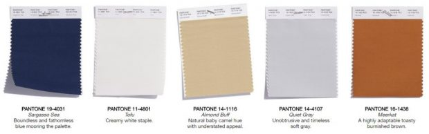 Pantone Color Trend