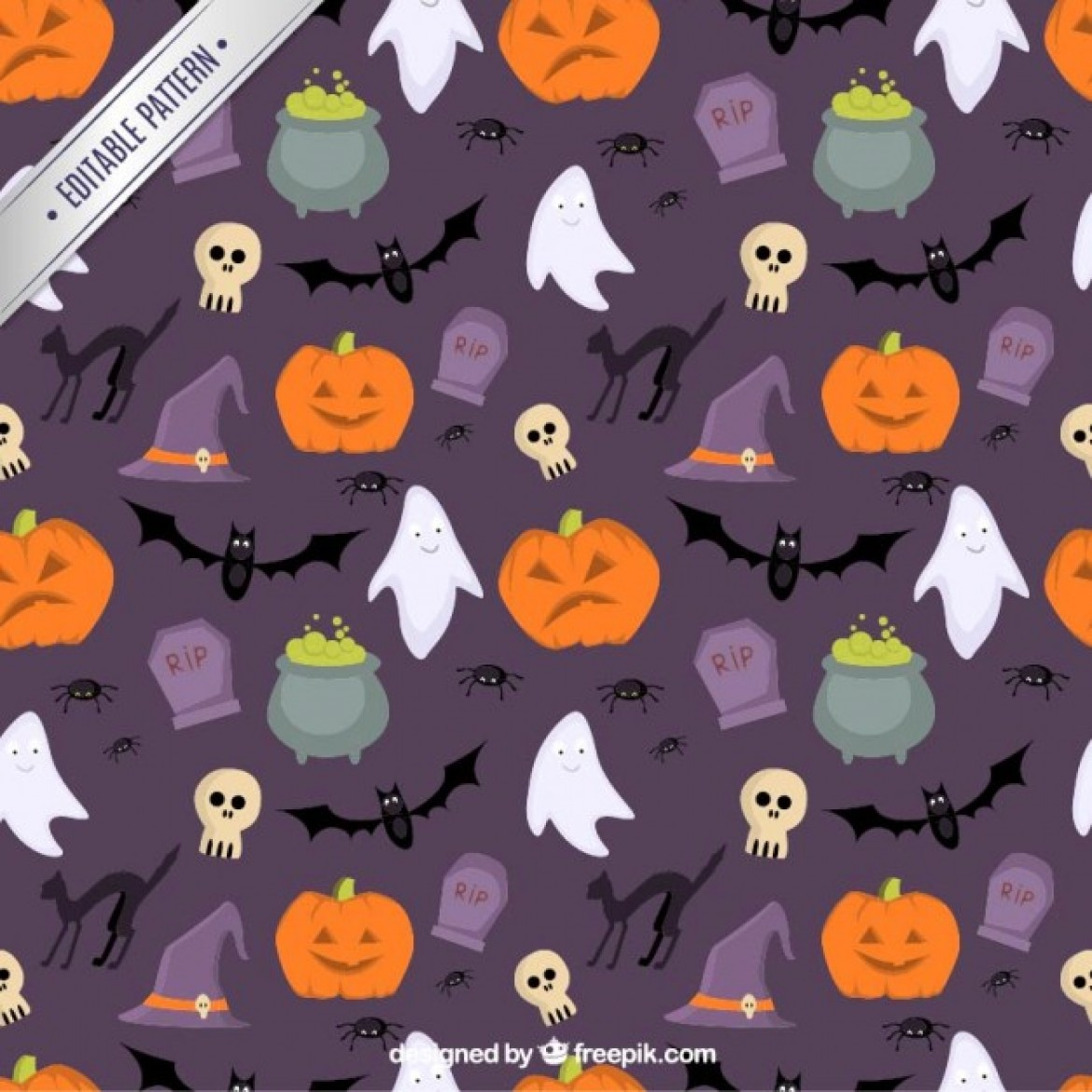Top free Halloween patterns with Instant Download