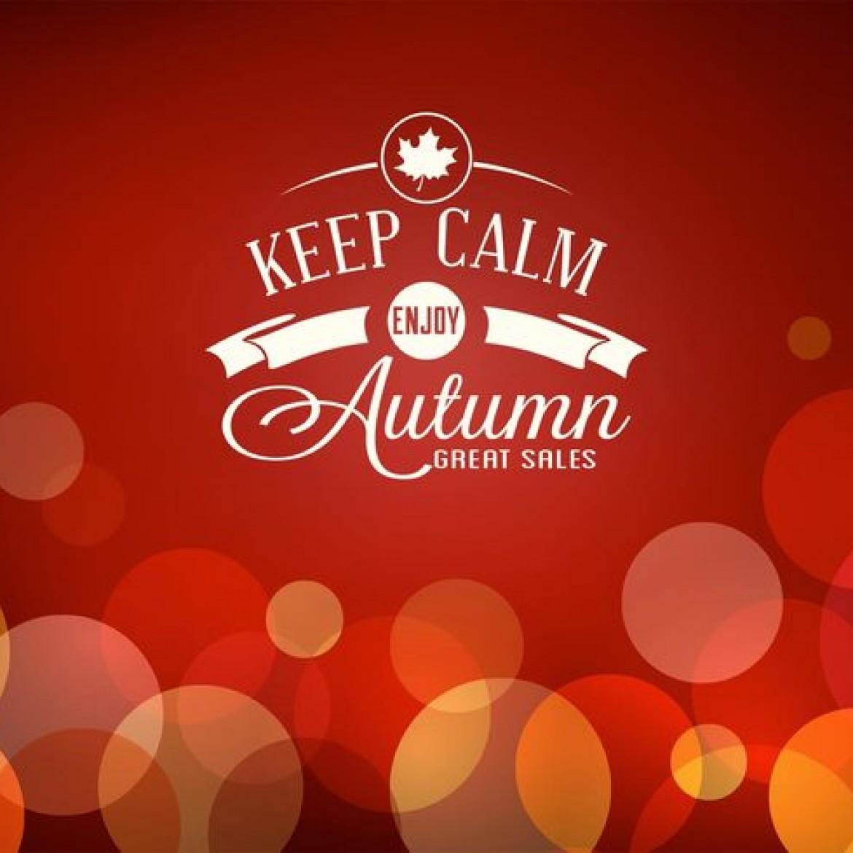 great autumn sales